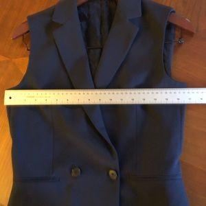Gant Jackets & Coats - Gant double breasted sleeveless blazer size 6 blue